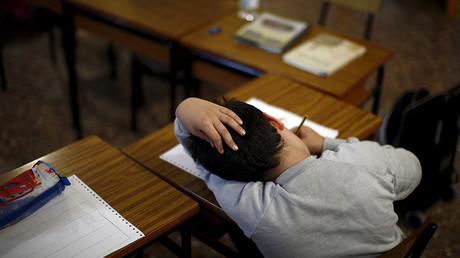 Homework is no more for Mrs Young's class. © Jon Nazca