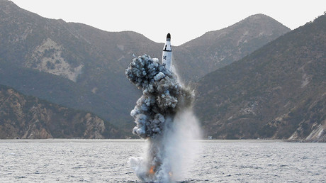 N. Korea launches ballistic missile from submarine amid US-Seoul drills