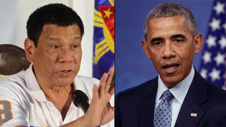 Obama must 'listen to me' before discussing human rights – Philippines president