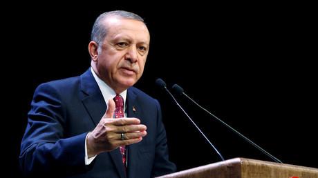 Turkish President Tayyip Erdogan © Kayhan Ozer