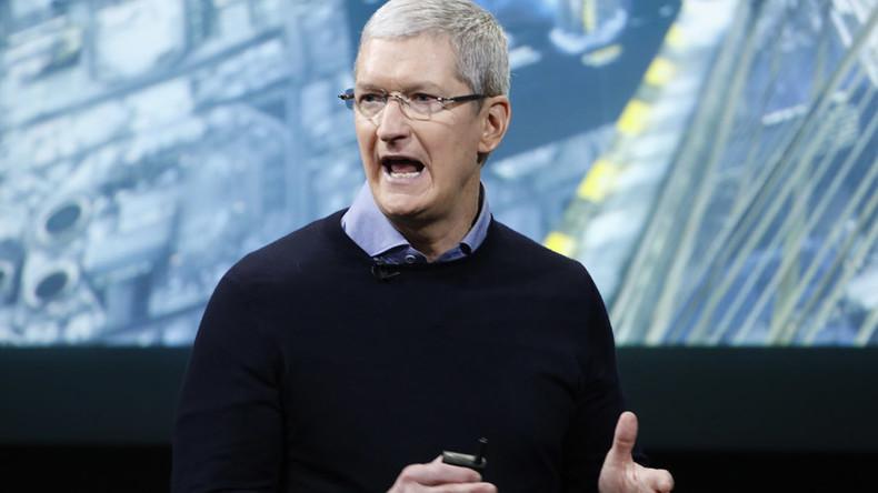 Apple boss calls EU tax ruling 'total political crap'