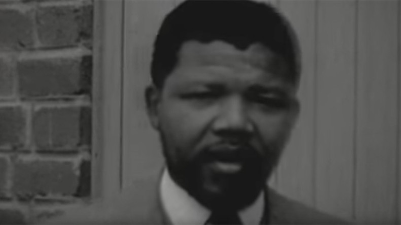 Watch Nelson Mandela's 1st TV interview ever, just unearthed by Dutch archivist (LOST VIDEO)