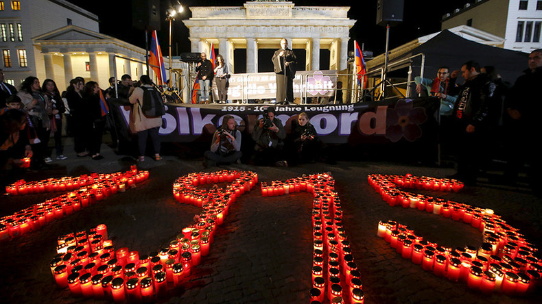 Germany says Armenia genocide resolution 'non-binding' after reports Berlin keen to 'satisfy' Turkey