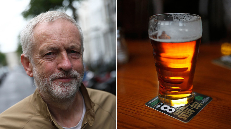 Time, gentlemen: Corbyn says going for a beer after work is sexist