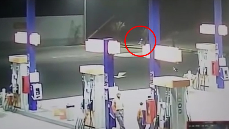 'Floating alien with teleportation abilities' caught on camera in Peru
