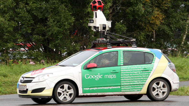 You'll pee your pants when you see what a Google car caught on camera