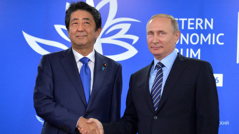Japan's PM calls for 'new era' in relations with Moscow, wants economic ties boosted