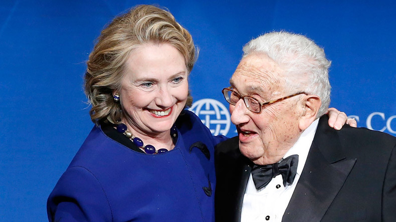 As Hillary Clinton kisses up to Henry Kissinger, RT looks at 4 of his most heinous acts