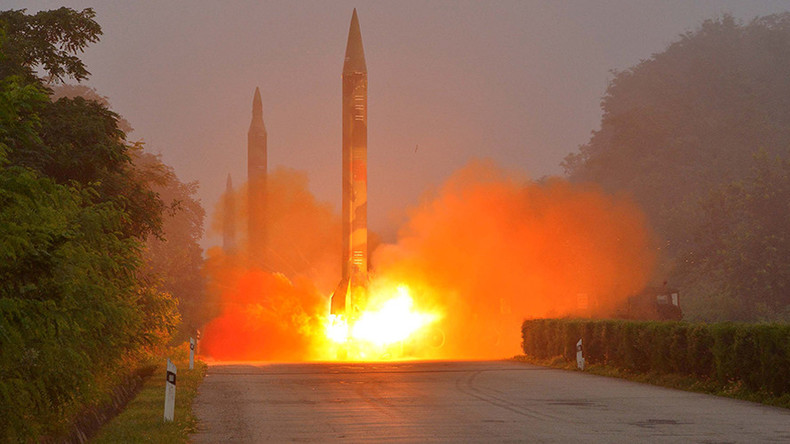 N. Korea fires 3 rockets hours after Seoul justifies US anti-missiles as 'inevitable self-defense'