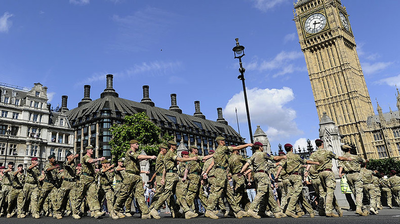 Military tempts recruits with shopping vouchers as army numbers bomb to 200yr low