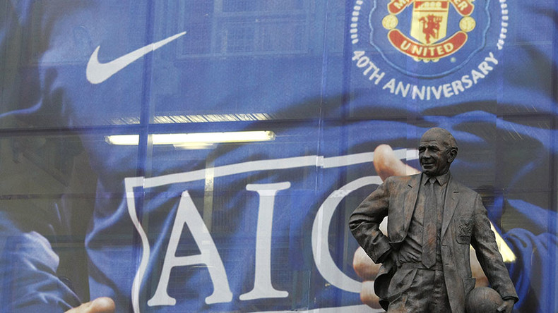 Man United removes plaque commemorating legendary coach from directors' box