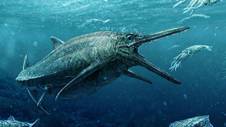 Nessie's cousin? Scotland finally reveal ancient skeleton of Jurassic monster (PHOTO)