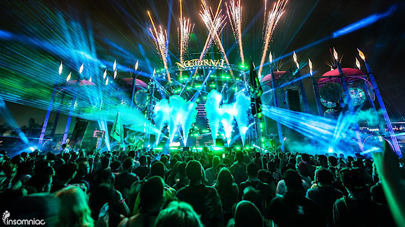 Sex, drugs & EDM: 400+ arrested at 3-day rave in California
