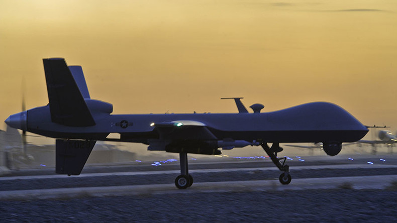'British people kept in dark over UK-US drone missions'