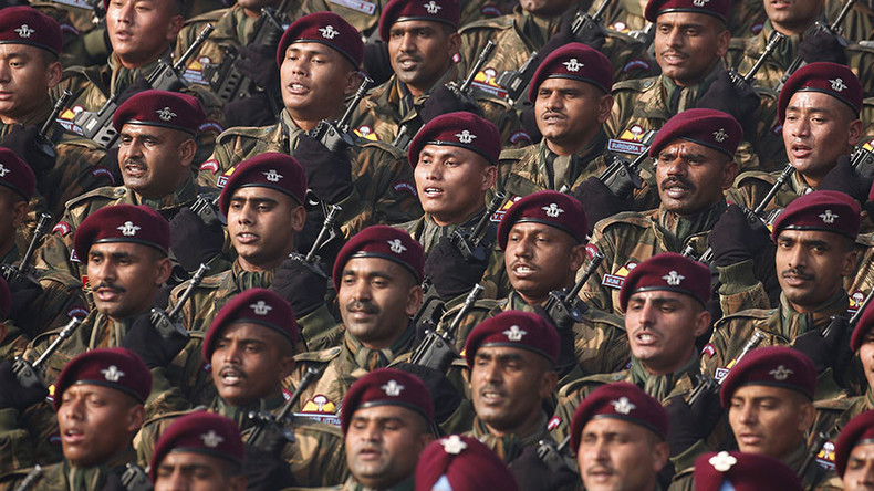 Lose weight or rank: Indian army takes tough stance on obesity among troops