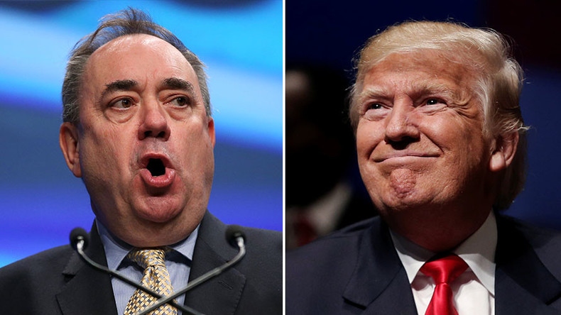 'Man-child' Donald Trump is a threat to US national security – Salmond