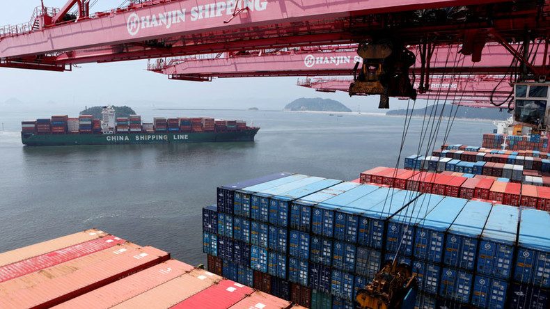 Chinese August imports up for first time since 2014