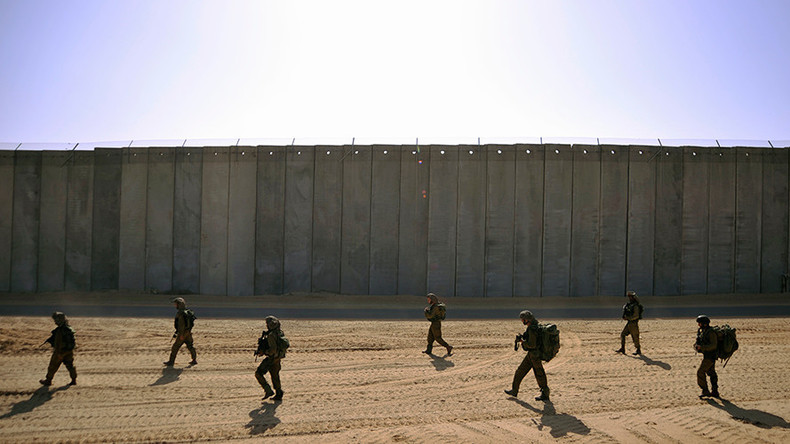 Israel starts building underground wall along Gaza border to counter Hamas tunnels