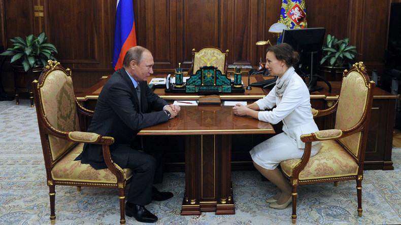 Putin appoints new children's rights ombudsman