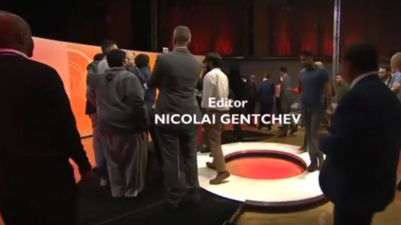 Corbyn rushed by Question Time audience while Smith awkwardly ignored