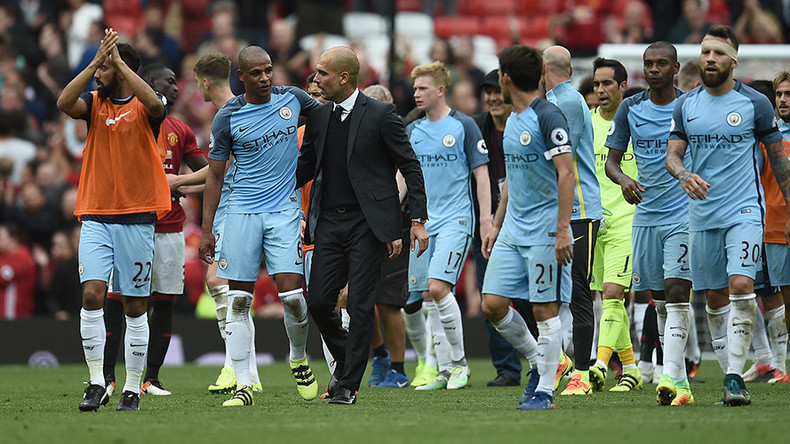 Guardiola and City win battle of Manchester against old foes Mourinho and United