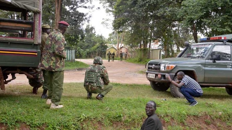 3 women wearing Burqa-like robes shot dead after attacking Kenyan police station
