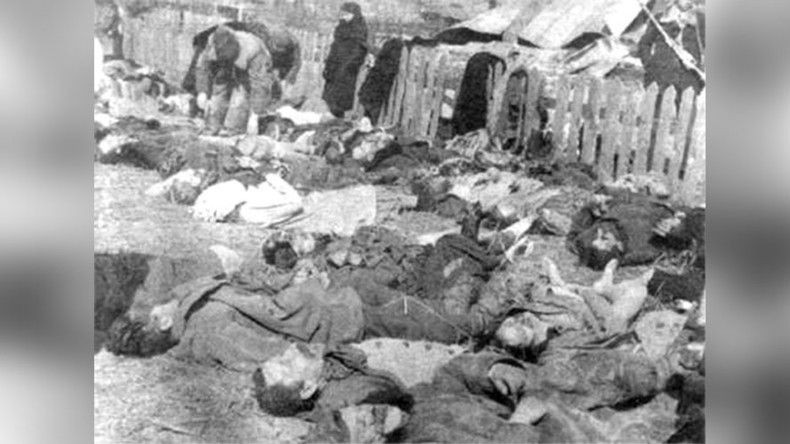 Communists seek genocide status for WWII massacre of Poles by Ukraine nationalists