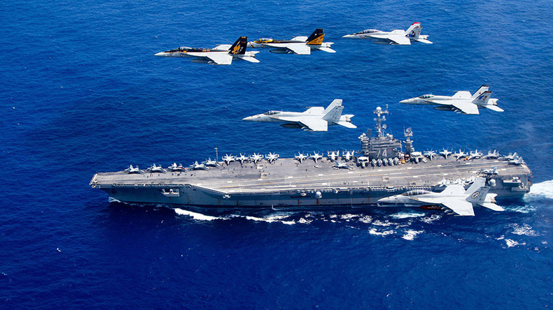 War baby: US Navy sailor abruptly gives birth on aircraft carrier at sea
