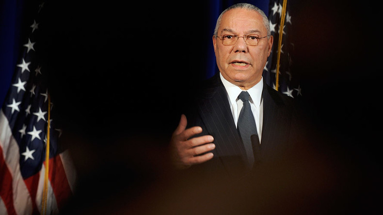 Hillary 'screws everything up,' Trump a 'disgrace' – Colin Powell