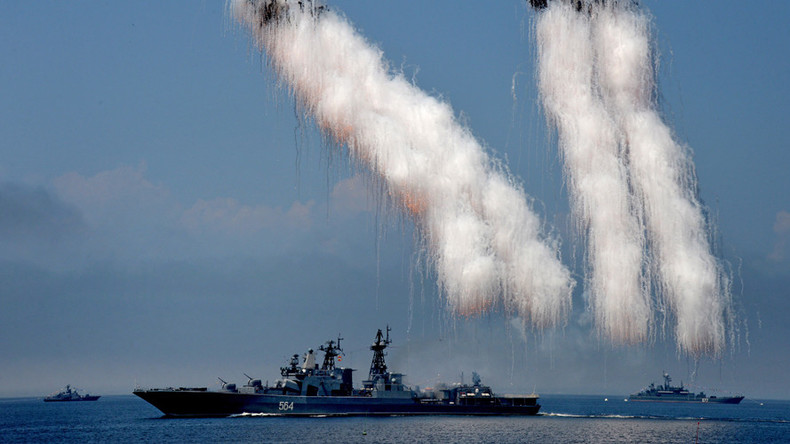 Russian-Chinese naval drills in disputed South China Sea enter active phase