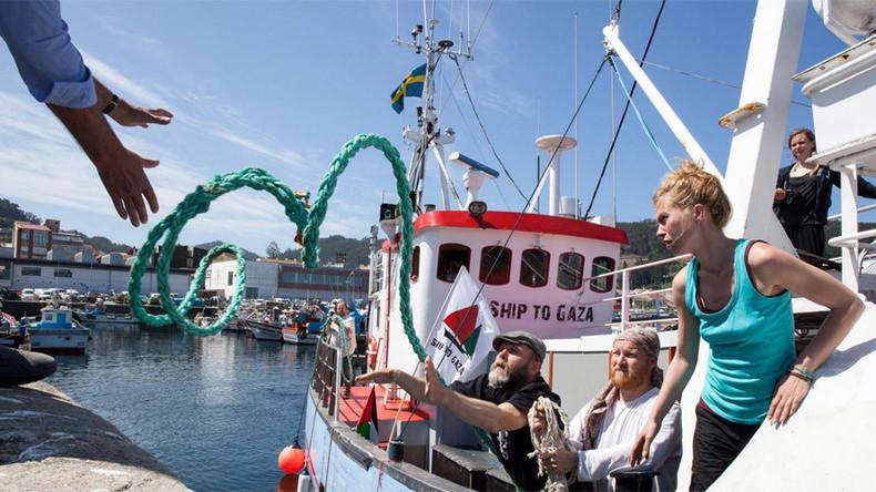 All-women crews sail for Gaza, hoping to break decade long Israeli blockade