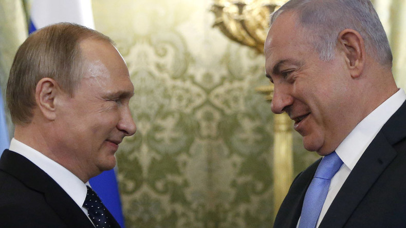 Netanyahu calls Putin to discuss Palestinian-Israeli peace talks revival