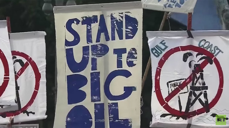 'Keep it in the ground': Environmentalists gather in DC, demand end to oil drilling on public land