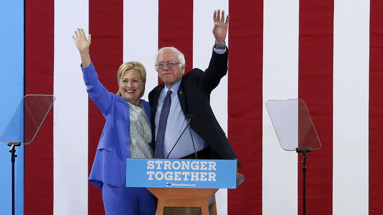 Sanders the top pick for Dems if Clinton forced to drop out of White House race - poll