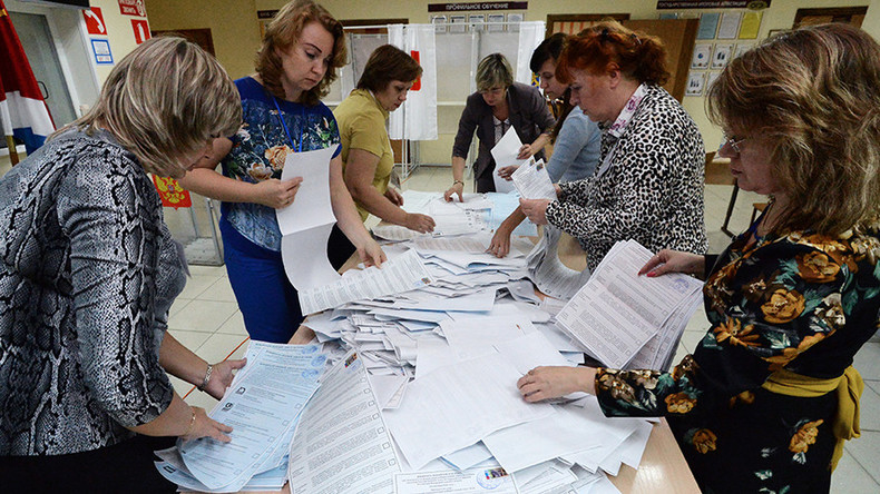 Russia votes in nationwide Election Day