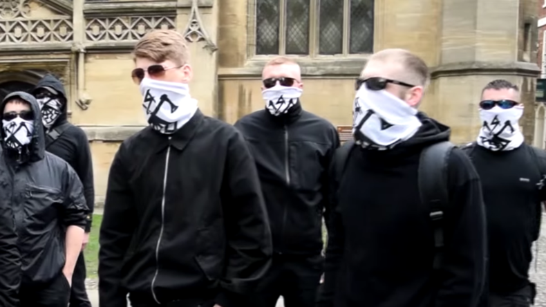 Neo-Nazis run 'whites only' food bank for Glasgow homeless