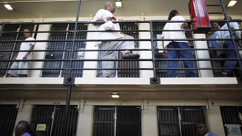 'End prison slavery!' 24,000+ inmates join nationwide jail strike (VIDEO)