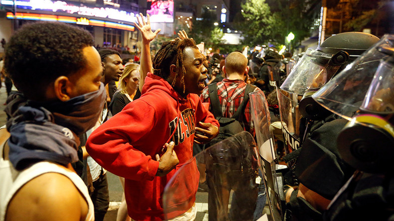 9 people injured, 44 arrested in Charlotte night riots - police chief