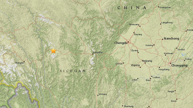 5.3 magnitude earthquake strikes China's Sichuan - USGS