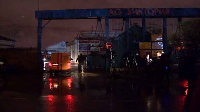 8 firefighters confirmed dead in massive fire at Moscow warehouse