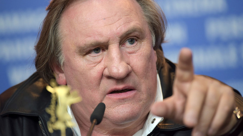 France risks becoming 'Disneyland for foreigners,' Depardieu says