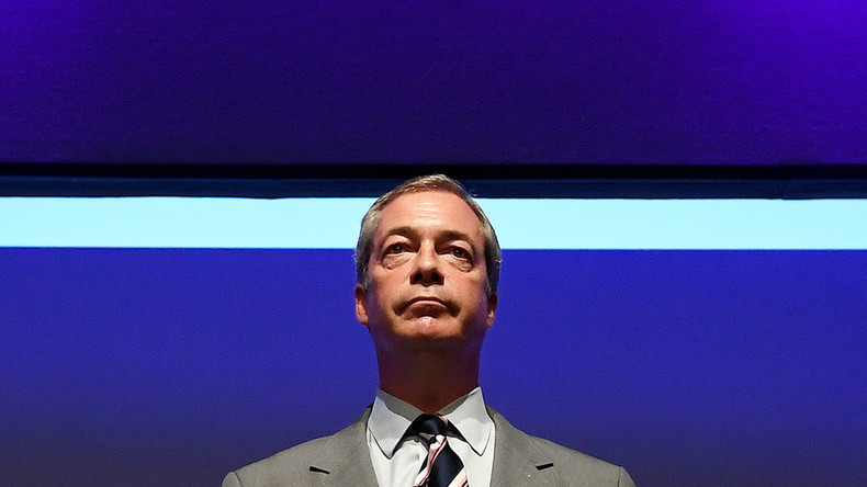 Nigel Farage in running for 'alternative Nobel prize for European freedom'
