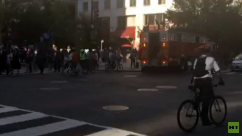 Commute from hell: Metro station blocks from White House evacuated due to fire on tracks (PHOTOS)