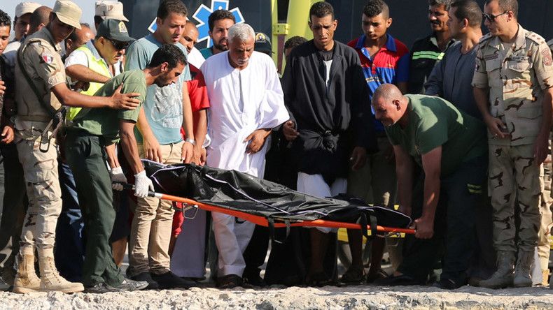 133 bodies recovered after migrant boat capsizes in Egyptian waters (PHOTOS)
