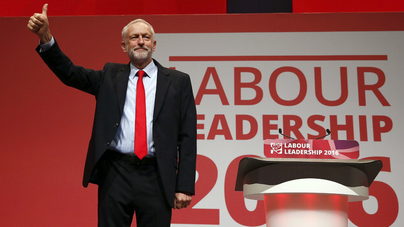 Jeremy Corbyn re-elected Labour leader in landslide win