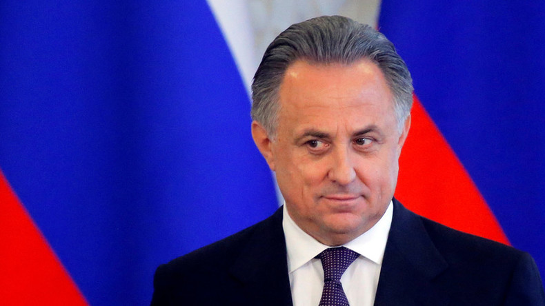 Vitaly Mutko re-elected as president of Russian Football Union