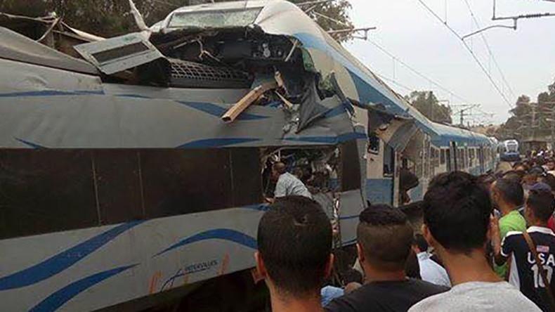 Trains collide in Algeria, multiple casualties reported (PHOTOS, VIDEO)