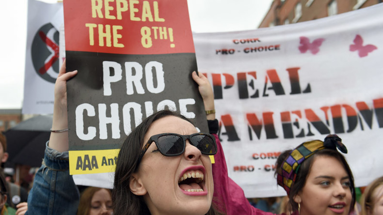 Thousands march across globe to repeal Ireland's strict abortion laws (VIDEOS, PHOTOS)