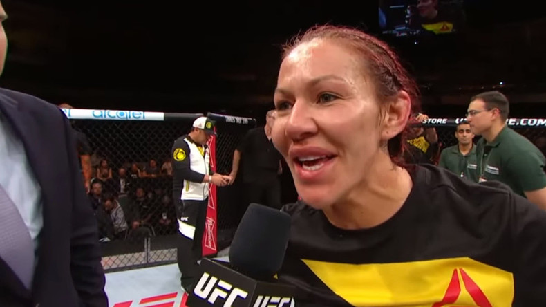 Cris Cyborg wants Rousey fight after brutal victory at UFC Fight Night 95