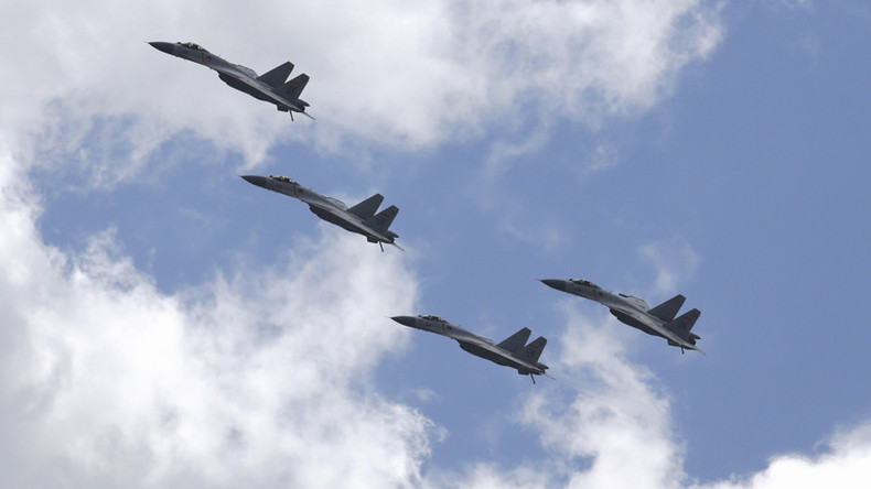Tokyo scrambles jets as Beijing stages air force exercise near Japanese islands